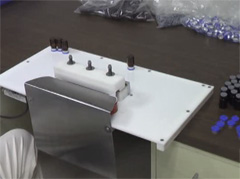 Click for full video of AMT� Inline Semi-Automatic Crimping Machine